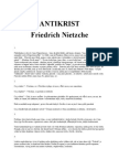 ANTIKRIST - Friedrich Nietzche