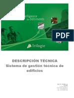 Descripción Gestión técnica de Edificios  GTE