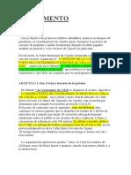 Definitivo Reglamento 7 Noviembre 2020 Carrera Contrarreloj Cijuela 6kms