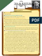 Ficha de Leitura cinco