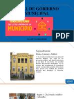 13. NIVEL DE GOBIERNO MUNICIPAL – ORIGEN DE LA INSTITUCIÓN MUNICIPAL. - LA ADMINISTRACIÓN