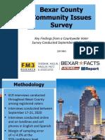 220-5963 Bexar Facts 2020 Q3 Survey Analysis - Draft 2