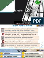 20200831 Modul 6 Dasar-Dasar Keselamatan Konstruksi