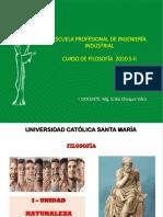 NATURALEZA DE LA FILOSOFÍA