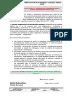 Politica Para la Prevencion de Consumo de Tabaco, Alcohol y Sustancias Psicoactivas 2020