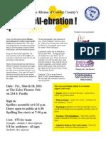 Altrusa 2011 Spell-Ebration Entry Form