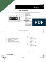 Manual Whirlpool AKG 659.01 IX Ficha del producto