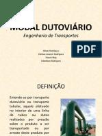 MODAL DUTOVIÁRIO