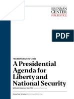 A Presidential Agenda for Liberty and National Security