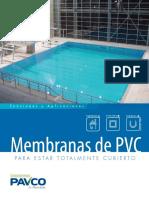 Membranas PVC piscinas