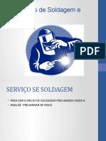 Processos de Soldagem e Corte TRABALHO DA TEREZA