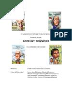 Biography Unit Revised 2014