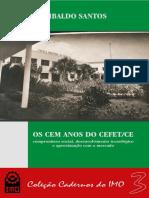 OS 100 ANOS DO CEFET - EBOOK