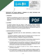 Protocolo de Viajes Aéreos y Ómnibus de Larga Distancia