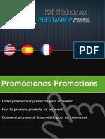 Promociones  - prestashop