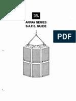 JBL - Manual de Montaje Array
