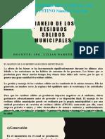 MANEJO DE LOS RESIDUOS SÓLIDOS MUNICIPALES (1)