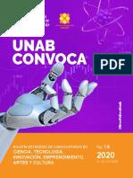 Decimocuarto Boletín UNAB Convoca