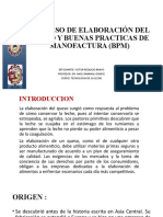 REQUEJO- BUENAS PRACTICAS DE MANOFACTURA (BPM) Y PROCESO DE ELABORACION DEL QUESO