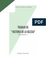TALLER HISTORIA DE LA IGLESIA LA IGLESIA PRIMITIVA