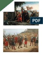 5 imagenes de la colonizacion
