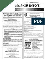 Chavornay Infos 4 février 2011