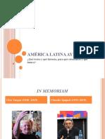 BENIGNI - Qué textos y qué historia, para qué estudiantes y qué futuro - América Latina ayer y hoy