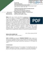 Exp. 22738-2019-0-1801-JR-LA-15 - Resolución - Inadmisibilidad