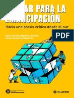 educar-emancipacion-Martínez y Gachetá