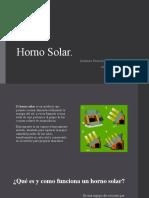 BIOCLIMATICA.Horno Solar
