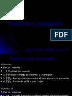 Violencia y Legislación