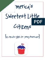 patriotic cupcake glyph
