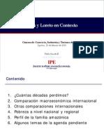 Peru y Loreto en Contexto