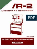 Ampex AVR 2 Manual 1974