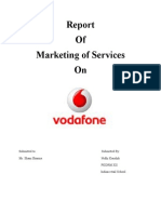 Vodafone- Services Marketing