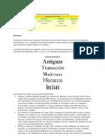 clasificación familias tipografica