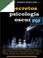 Secretos de psicología oscura Daniel James Hollins