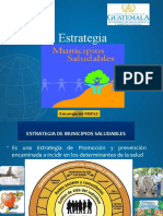 PRESENTACION ESTRATEGIA DE MUNICIPIOS SALUDABLES 04 de octubre