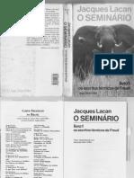 Jacques Lacan - O seminário - Livro 1 - Os escritos técnicos de Freud.pdf