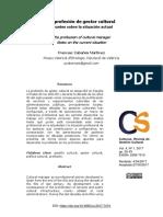 La profesión de gestor cultural. Apuntes sobre la situación actual.pdf