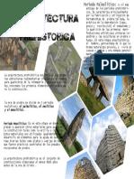 ARQUITECTURA PREHISTORICA