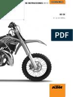 20 Manual de Servicio MX 65 SX