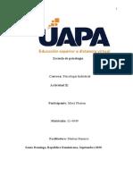 Actividad de la unidad III clasificacion y valoracion de puesto