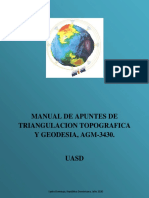 Manual de Geodesia
