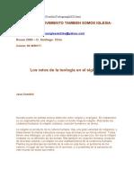 Los Retos de la Teologia, Comblin.docx
