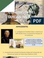CAÍDA DEL TAHUANTINSUYO