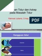 2. Gangguan - Masalah Tidur.pptx