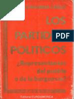 Rivanera Carles, Federico - Los partidos politicos representantes del puebloL