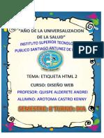 TAREA DE DISEÑO WEB