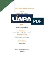 tarea 4 analisis y elaboracion de informes  tecnicos